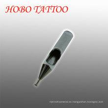 Venta al por mayor 50 mm de acero inoxidable tatuaje puntas de la aguja