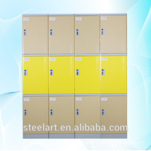Modern design school/gym lockable abs plastic locker