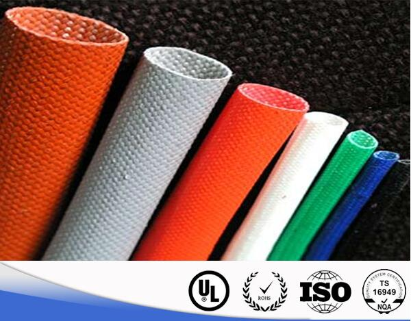 Silicone Rubber FiberGlass Braided Sleeve