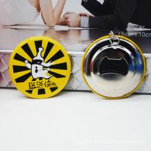China-Hersteller-kundenspezifische Metall Keychain Flaschen-Öffner