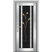 outward stainless steel door