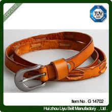 Fancy Design Genuine Leather Belt / Unisex Leather Belt
