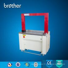 Emballage automatique de ceinture de courroie de pp emballant la machine de cerclage d'emballage