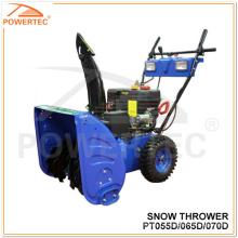Powertec 4-Takt CE / Eurd-2 5.5 / 6.5 / 7HP Benzin-Schneefräse CE / Eurd-2 (PT055D / 065D / 070D)