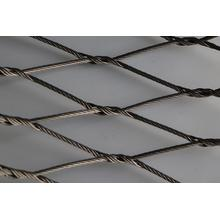 Stainless Steel Ferrule Rope Mesh with High Flexibility