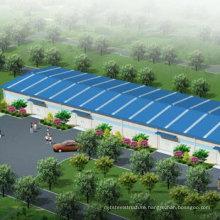 Steel Structure Warehouse/Workshop (wz-336311)