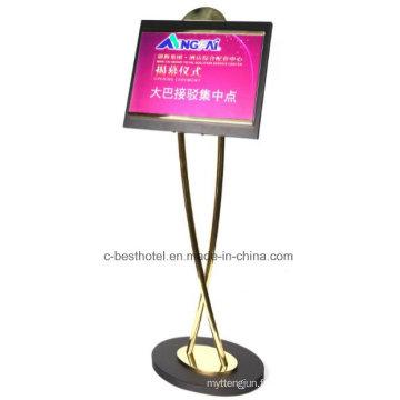 Panneau multifonctionnel pour enseignes en métal extérieur
