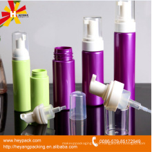 Embalagem de produto de garrafa de espuma 100ml