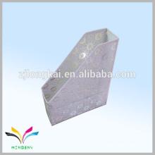 Métal enneigé blanc en fer forgé ligne unique suspendu fichier filetage métallique racks zhejaing usine