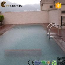 Decking compuesto de la piscina de la piscina, decking de wpc / tablero del wpc, decking plástico de madera, al aire libre