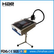 Stampante a codice batch inkjet collegata al computer