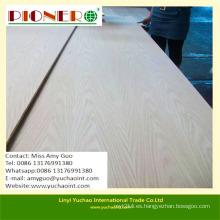 Tablero de madera de la teca del grado 4 * 8 de los AAA Grado / madera contrachapada de lujo para los muebles