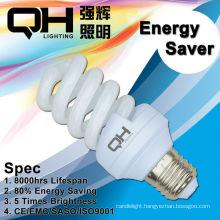 22W E27 Full Spiral Energy Saving Lamp 2700K/6500K
