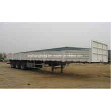 Semi-remorque à conteneur ou cargaison à trois essieux 40FT
