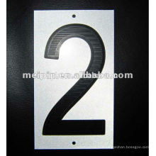 Reflective Stickers Printing Number for Warning Signs