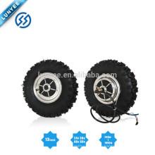 Высокая эффективность 24V 250вт 36В 500Вт 800Вт 48В 1000W электрическое колесо мотор эпицентра деятельности для электрического самоката Электрический Гольф-кары