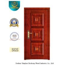 Porta de aço de segurança estilo clássico (b-6001)