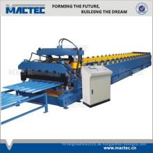 Am populärsten Doppelblatt glasierte Fliesenrolle, die Maschine bildet