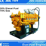 Diesel Fuel and Nature Gas Biofuel Generator