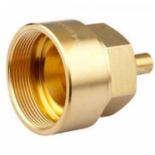 Precision Machined Brass Fiber Adapter