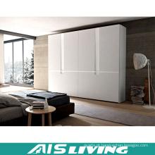 Armário de madeira moderno feito sob encomenda do vestuário do quarto dos projetos (AIS-W331)