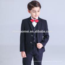 2016 новый дизайн детские мальчик производительность комплект одежды тонкий-линии цветок мальчик костюмы для свадьбы