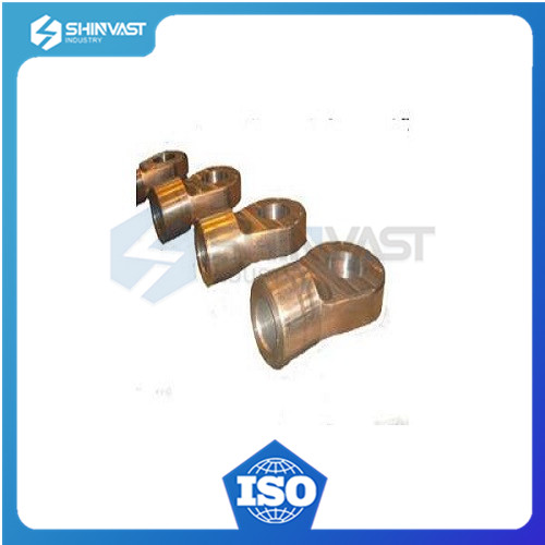 High precision investment cast brass part