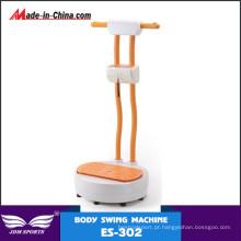 Placa mais magro da vibração do corpo quente do equipamento da aptidão da venda para adultos