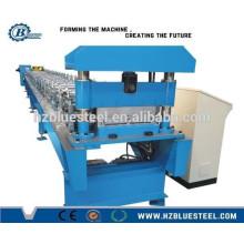 Bonne qualité Full Auto PLC Industrial Self Lock Metal Glazed Tile Roll Machine formatrice à vendre