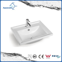 Ceramic Cabinet Basin and Vanity Top Hand Washing Sink (ACB2211)