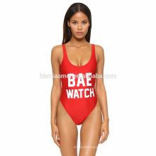 Women's Plus Size Einteilige Bademode Euro-Size-Badeanzug