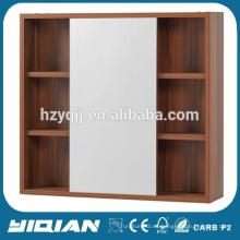 Hangzhou montado en la pared de esquina deslizante cuarto de baño espejo gabinete