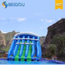 Популярные дешевые надувные Гигантские воды слайд взрослый размер надувной слайд