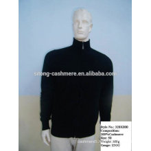 men knitting cashmere sweater