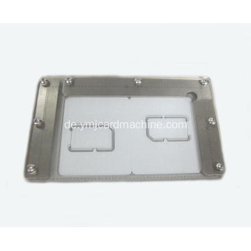 Smart Card Size Measuring Corner Schablone