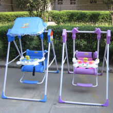 Folding Plastic Baby Swing Chair/Children Outdoor Toys Kids Swing