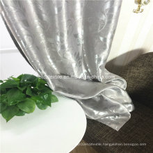 2016 Popular Grey Blackout Curtain Fabric