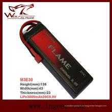 Flamme LiFePO4 3000mAh 9.9V15c Plus Batterie
