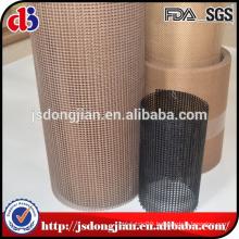 China High quality Wholesale 4x4mm/PTFE Coated Fiberglass Mesh ConveyorBelt