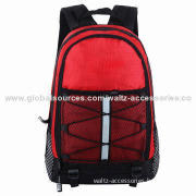 Beautiful Elegant Young Man Eco-friendly School Backpack/Sports Bag with Other Pockets