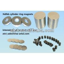 Gesinterte Magnete Neodym-Zylinder angepasst