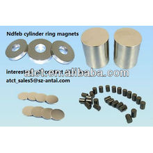 Sintered Customized Neodymium Cylinder magnets