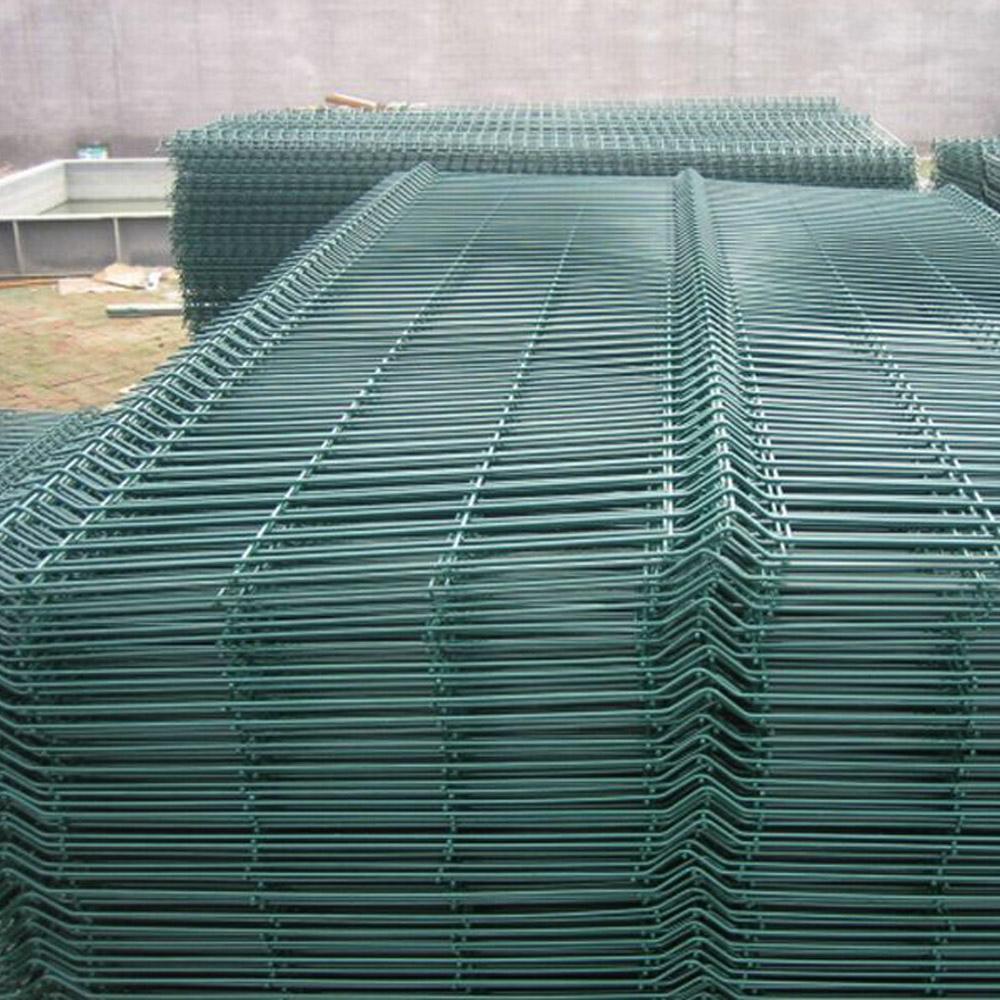 Curvy geschweißte Mesh Zaun China Hersteller