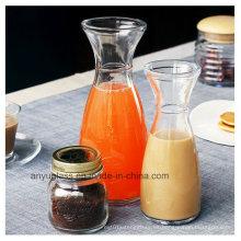 350ml 500ml Frascos de vidrio calientes del jugo de fruta de la venta para beber Beverage