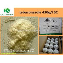 Produit phytosanitaire / fongicides agrochimiques traitement des graines tebuconazole 430g / l SC, CAS: 107534-96-3 -lq