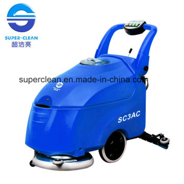 Caminar Detrás del Scrubber de piso con la batería o con el cable