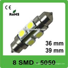 Lumière intérieure de voiture 12V LED auto ampoule de feston 36mm