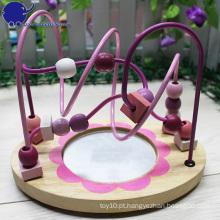 Coaster novo do grânulo do rolo dos miúdos das crianças da chegada com um espelho