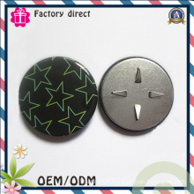 Clothes Hooked Badge 25mm Diameter OEM Factory