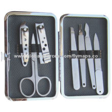 7 Pieces Manicure Tool Set, Made of High-quality Stainless Steel Material